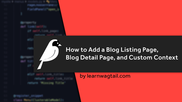 How to Add a Blog Listing Page, Blog Detail Page, and Custom Context video image