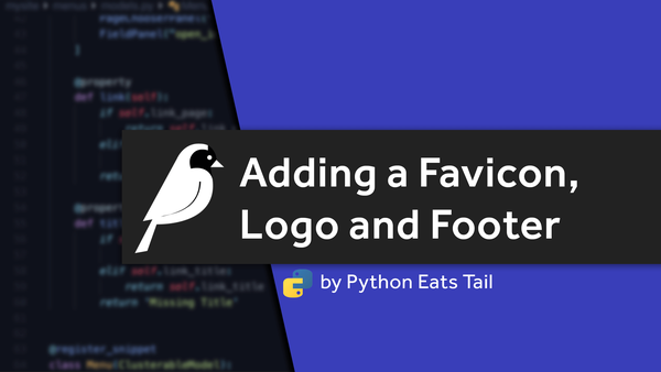16. Adding a Favicon, Logo and Footer video image