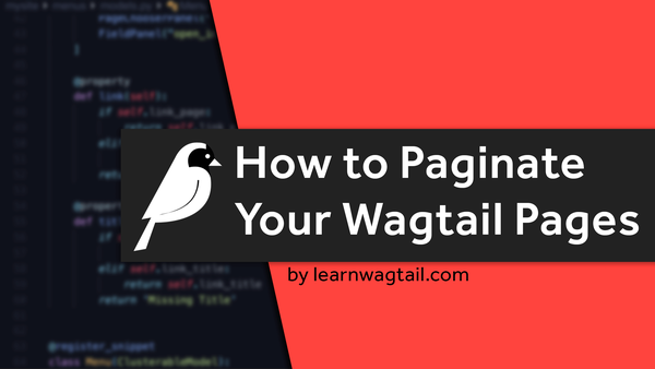 How to Paginate Your Wagtail Pages video image