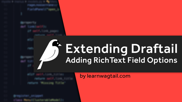 Extending The Draftail RichText Editor video image