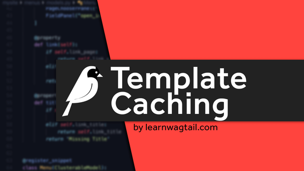 How to Add Template Caching video image