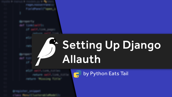 03. Setting Up Allauth In Django video image