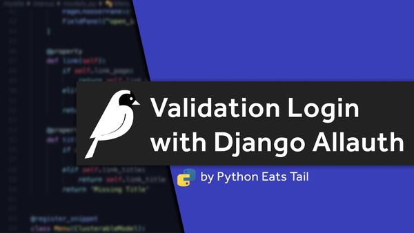 04. Setting Up Validation Login With Allauth in Django video image