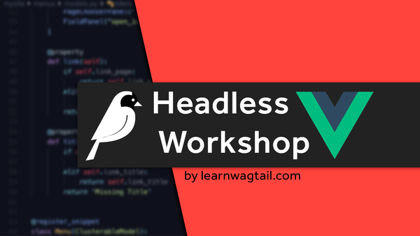 Headless Workshop (with Vue.js) video image