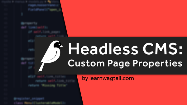 Headless CMS: Custom Page Properties video image