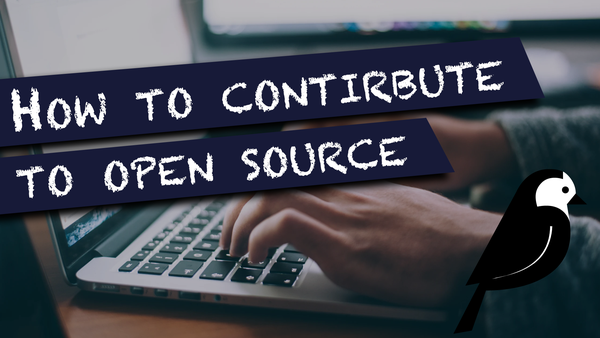 How to contribute to open source video image